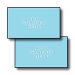 2 sided card with UV Coating
